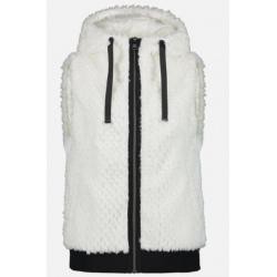 Luhta HANNIEMI Sleeveless Vest White