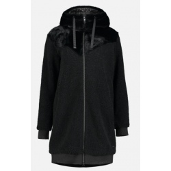 Luhta HEVOSSALO Black long hoodie