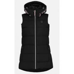 Luhta KUURNA Black Sleeveless Jacket