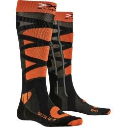 X-Socks SKI CONTROL 4.0 Anthracite/Orange Socks