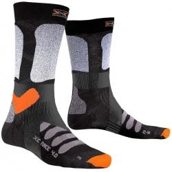 Chaussettes X-Socks SK XCOUNTRY 4.0 Gris/Noir/Orange
