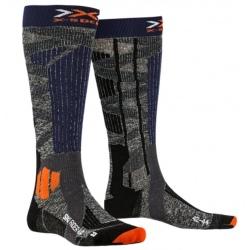 Chaussettes X-Socks SKI RIDER 4.0 Grey/Blue