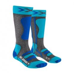 Chaussettes X-Socks SKI JUNIOR 4.0 Bleu