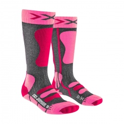 Chaussettes X-Socks SKI JUNIOR 4.0 Rose