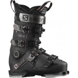 Chaussures de ski Salomon S/MAX 100 W GW Black / Pink Gold Metallic / Belluga