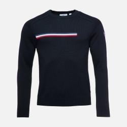 Rossignol ODYSSEUS ROUND NECK Black Sweater