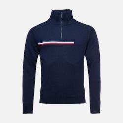 Rossignol MAJOR 1/2 ZIP Dark navy sweater