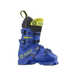 Salomon S/RACE 130 NC Race Blue / Acide Green ski boots