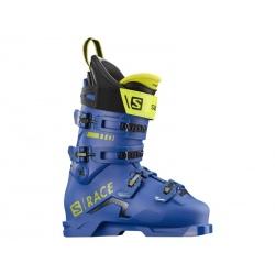 Salomon S/RACE 110 NC Race Blue / Acide Green ski boots