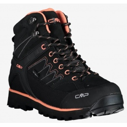 CMP W'S MOON MID Black hiking shoes