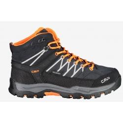 Chaussures de rando CMP JUNIOR RIGEL MID Anthracite-Flash Orange