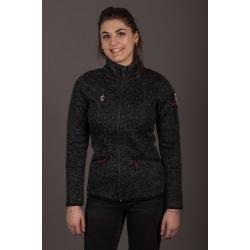 Aulp FIZES Black Fleece Jacket
