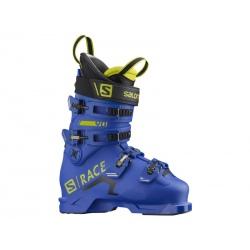 Salomon S/RACE 90 NC Race Blue / Acid Green ski boots