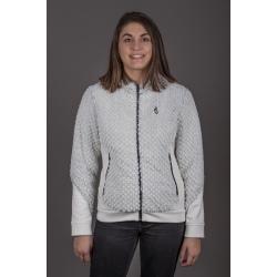 Aulp UTJIL White Fleece Jacket