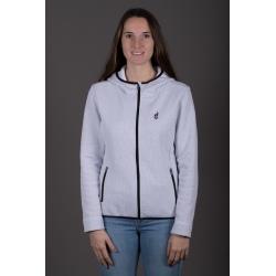 Aulp UZANO White Fleece Jacket