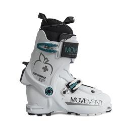 Movement PERFORMANCE WOMEN White / Turquoise ski boots