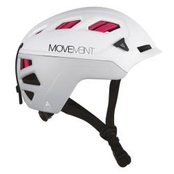 Movement 3TECH ALPI WOMEN Light Grey / White / Pink helmet