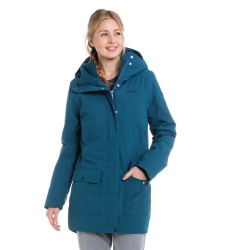 Schöffel INS PARKA ROTTERDAM Blue Jacket