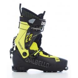 Chaussures de ski Dalbello QUANTUM FREE 110 Uni Black / Acid Yellow