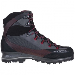 La Sportiva TRANGO TRK LEATHER GTX Carbon/Chili hiking boots