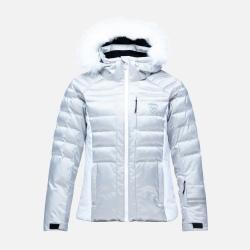 Rossignol W RAPIDE METALLIC JKT Silver Jacket