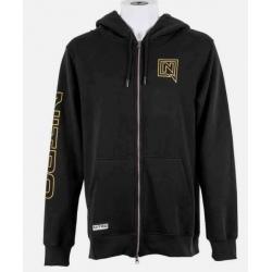 Nitro TEAM ZIP HOODIE Black Sweatshirt