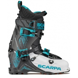 Chaussures de ski Scarpa MAESTRALE RS White / Black / Azure