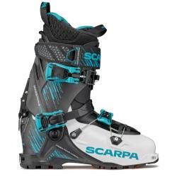 Scarpa MAESTRALE RS White / Black / Azure ski boots