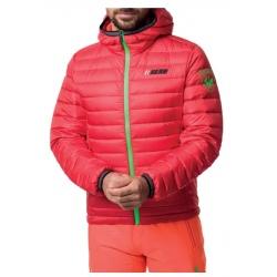 Rossignol VERGLAS HERO HOOD JKT Neon Red jacket