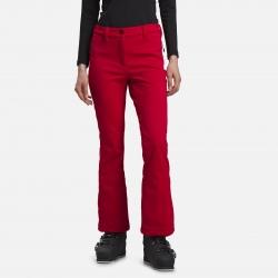 Pantalon Rossignol W SKI SOFTSHELL PANT Carmin