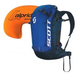 Scott PACK PATROL E1 30 KIT Blue/Dark blue backpack