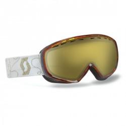 Masque SCOTT DANA groove brown / natural lens gold chrome 20% v