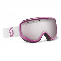 Masque SCOTT Mia rose violet/white / silver chrome