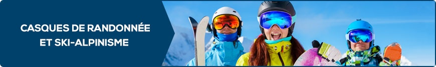 Casques de randonnée et ski-alpinisme