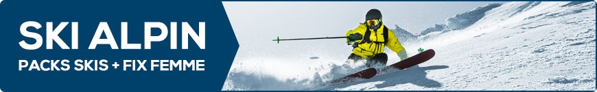 Packs skis + fix Femme