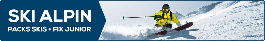 Packs skis + fix  Junior