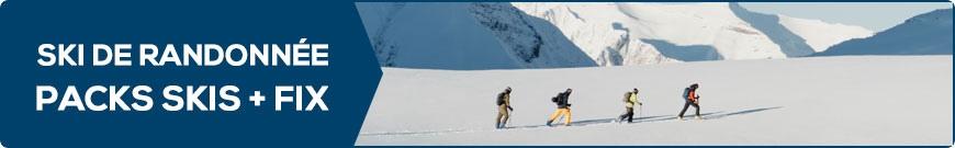 Packs skis + fix