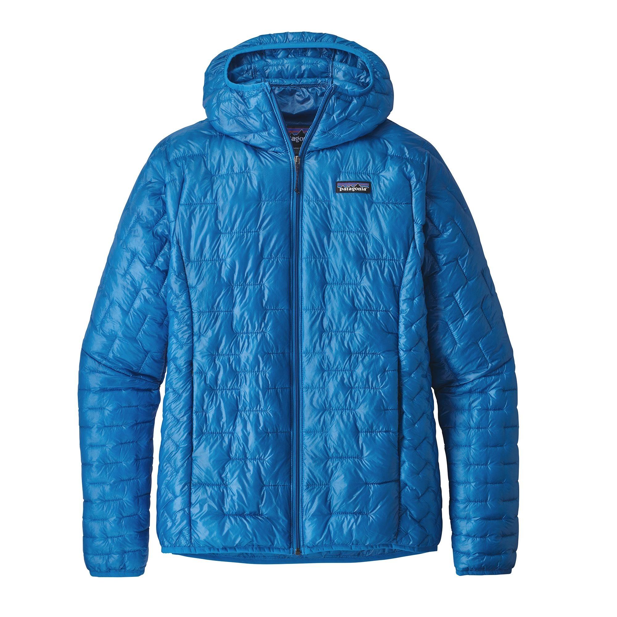 9b87823830f PATAGONIA Patagonia W S MICRO PUFF HOODY bleu 2019 hiver. Avec la veste  Micro Puff Hoody de Patagonia