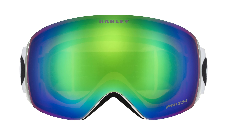 Masque Oakley Airbrake XL Hazard Bar Blue Orange Prizm Torch