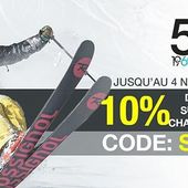 10 % de remise supplémentaire sur les skis, snows, chaussures et boots avec le code ski10. Offre valable jusqu'au 4 novembre hors produits exclus. #specksports #ski #promo #alsace #skigear #montagne
