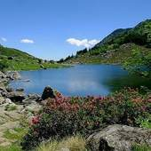 Magnifique Pyrénées. Etang de Comte Ariège. #pyrennees #ariege #randonnée #trek #marche #ballade #lacdemontagne #specksports
