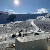 Dynastar ski test #cervinia #glacier #toutbeton #beaucouptroptot