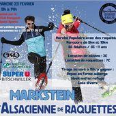 L'alsacienne de raquettes revient le dimanche 23 février au Markstein ! On vous attend nombreux pour cet événement sportif et historique dans la vallée ! 🌲❄️⛷ . #speck #sports #raquettes #neige #alsace #marstein