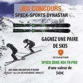 Avec notre partenaire @dynastarskis tentez de gagner une paire de ski Speed Zone 4X4 78 Pro d'une valeur de 549€. Plus d'infos sur notre site (lien en bio). #jeuconcoursinstagram #specksports #ski #dynastar #jeuconcours