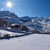 Joli saupoudrage @val_thorens.#specksports #firstsnow #powder #ski #savoie #rhonealpes